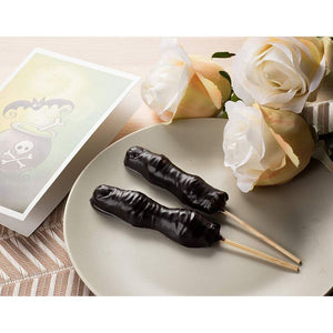 Halloween Candy Mould for Chocolate, Zombie Fingers (4 Pack)