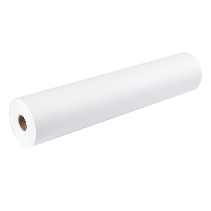 Juvale Kraft Paper Roll for Packing and Shipping (White, 200 Feet)