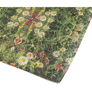 100-Pack Decorative Napkins - Daisy Garden Floral Print Disposable Paper Party Napkins - Soft and Absorbent Cocktail Napkins for Luncheon, Dinner and Celebration, Pink, 13 x 13 Inches