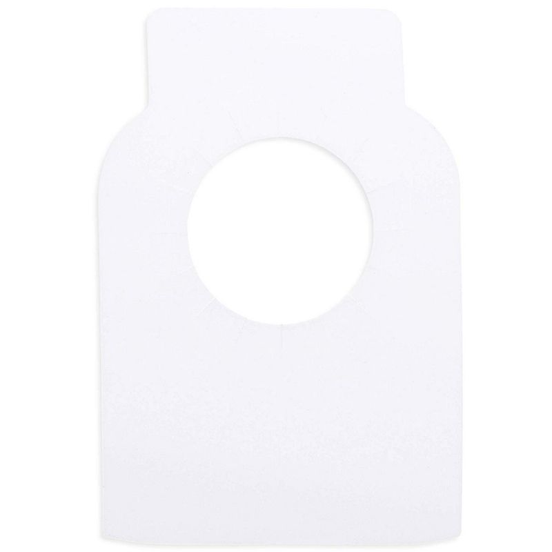 Juvale 150-Pack Blank Reusable Wine Cellar Bottle Label Tags, 3.5 x 2 Inches