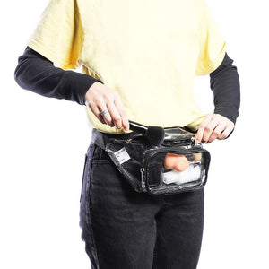 Stadium Approved Fanny Pack (Clear, 11.5 x 6 Inches)