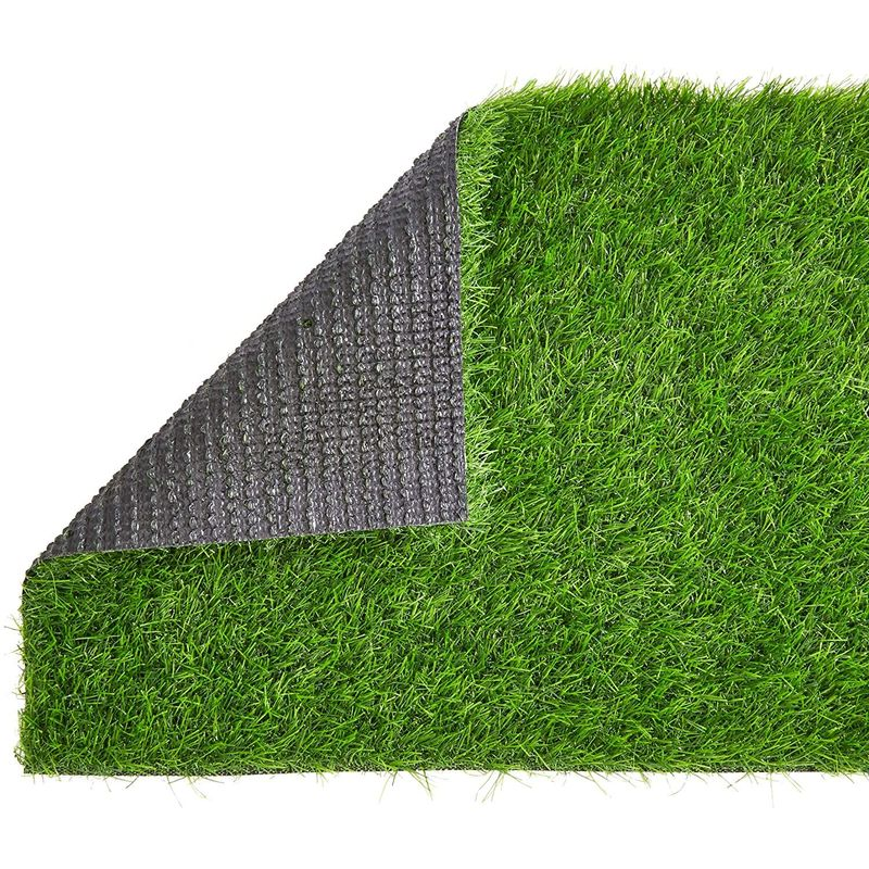 "Artificial Grass Dining Table Runner 14""x48"" Party Decoration"