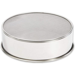 "Stainless Steel Professional Round 6"" Mesh Flour Sieve Strainer Sifter Baking"