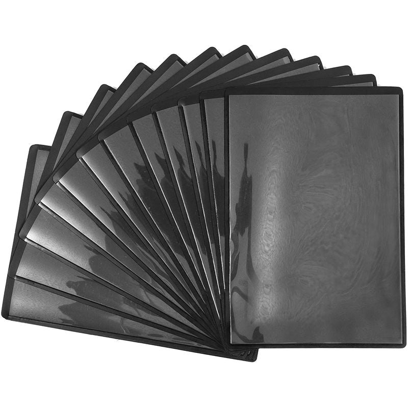 Black Magnetic Picture Frames for 4 x 6 Inch Photos (4.5 x 6.5 In, 15 Pack)