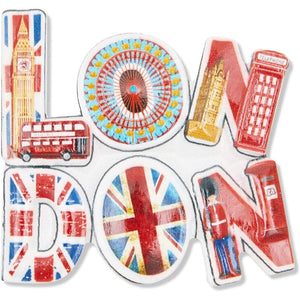 Juvale London Refrigerator Magnets, Souvenir Set (6 Pack)