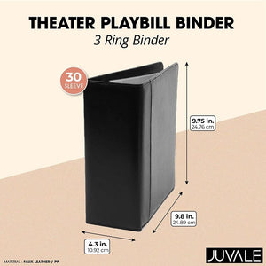 Playbill Broadway Binder with Sleeves (10 x 9.5 in)