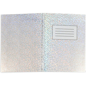 Holographic Composition Notebook (4.5 x 3.25 in, 12 Pack)