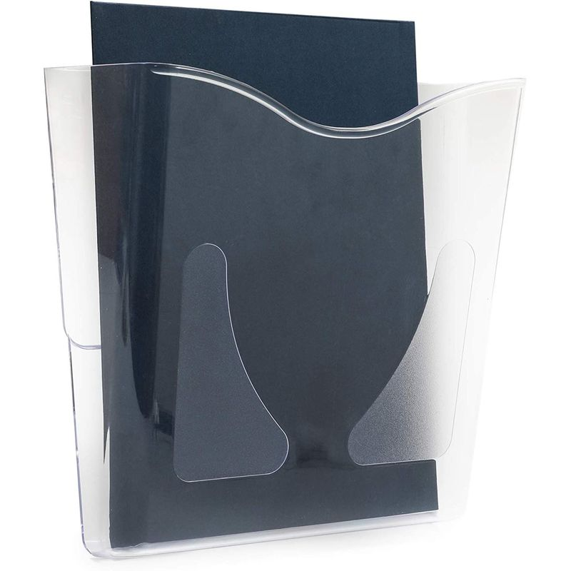 Hanging Wall File Organizer, Vertical, Fits 8.5 x 11 in Pape