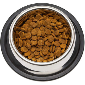 Juvale Stainless Steel Pet Bowls for Cats and Dogs (6.3 in,