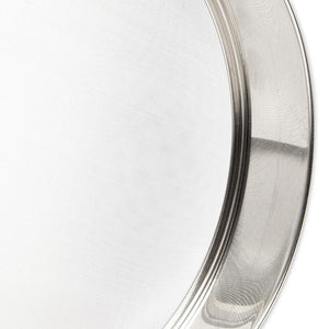 Stainless Steel Professional Round Flour Sieve (9.5 in)
