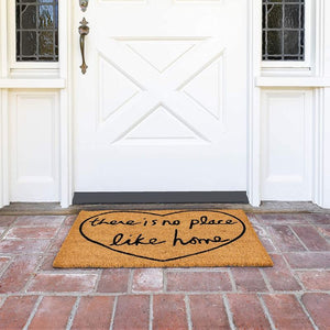 There is No Place Like Home Nonslip Doormat (17 x 30 in, Nat