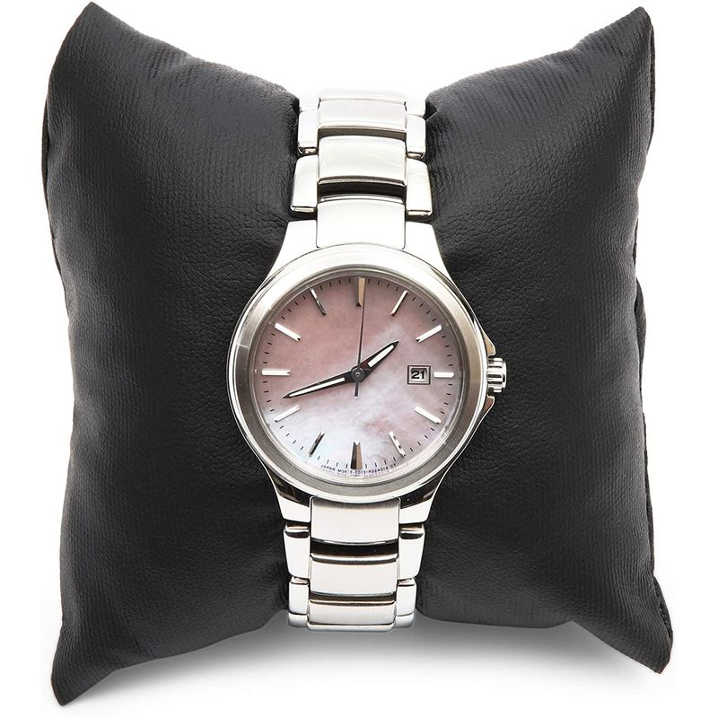 Pillows for Jewelry, Watch Pillow (Black, 3 in, 12 Pack)