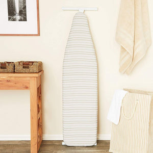 Juvale Ironing Board Cover and Pad, Heavy Duty, Grey Stripe