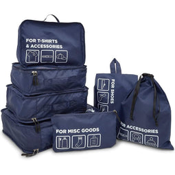 7-in-1 Luggage Packing Cubes (7 Pieces)