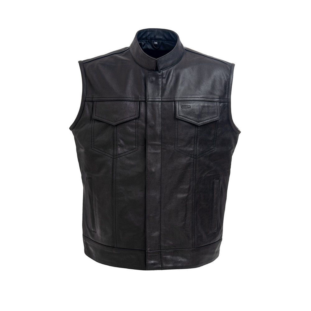 Outlaw Leather Biker Vest