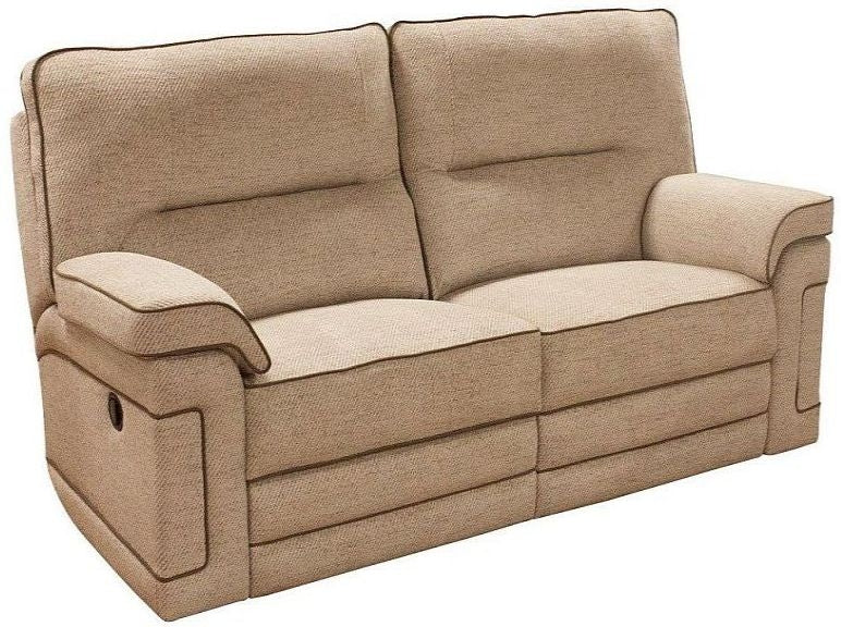 Buoyant Plaza Fabric 2 Seater Recliner