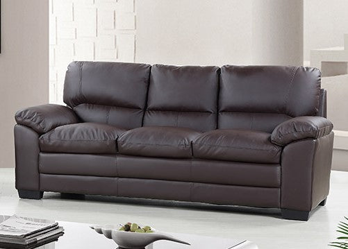 Capri 3 Seater Leather Sofa