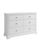 Cambridge White Painted 6 Drawer Wide Chest