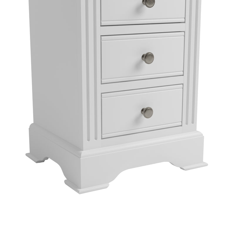Cambridge White Painted Large Bedside Chest
