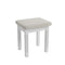 Cambridge White Painted Stool