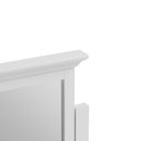 Cambridge White Painted Vanity Mirror