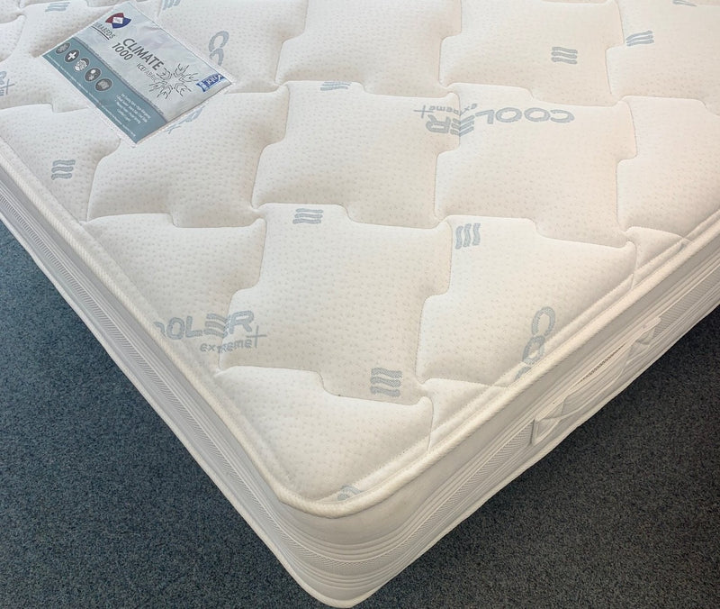 Dura Beds Climate 1000 Coolgel Summer / Winter Mattress
