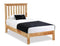 New Trinity Oak Single 3'0 Bed