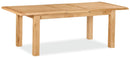 London Oak Compact Extending Dining Table (120cm - 165cm)