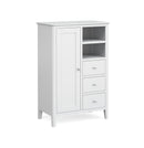 Hampstead White Combination Wardrobe