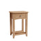 Hurst Natural Oak Small Console Table