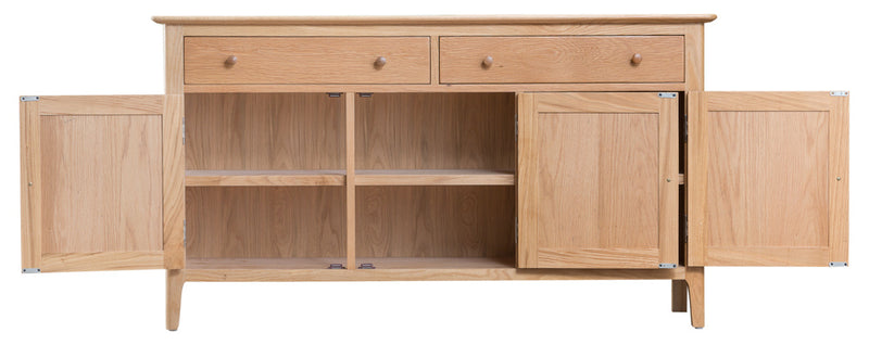 Newton Oak 3 Door Sideboard