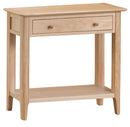Newton Oak Console Table