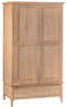 Newton Oak Large 2 Door Robe