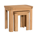 Lothian Oak Nest Of 2 Tables