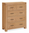 Sherwood Oak 2 over 3 Chest of Drawers
