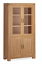 Sherwood Oak Display Cabinet