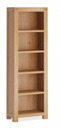 Sherwood Oak Slim Bookcase