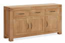 Sherwood Oak Large 3 Door Sideboard