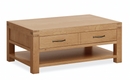 Sherwood Oak Coffee Table with Large Drawer