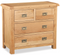Salisbury Oak 2 over 2 Chest of Drawers