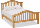 Salisbury Oak Classic Slatted 5' King Size Bed Frame