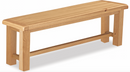 Salisbury Oak Small Bench