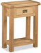 Salisbury Oak Telephone Table with Drawer