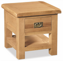 Salisbury Oak Lamp Table with Drawer