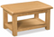 Salisbury Oak Large Coffee Table With Shelf