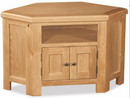 salisbury oak corner tv unit