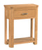 Lothian Oak 1 Drawer Console Table