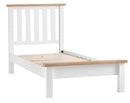 St Ives Hand-Painted White 3ft Single Bed Frame