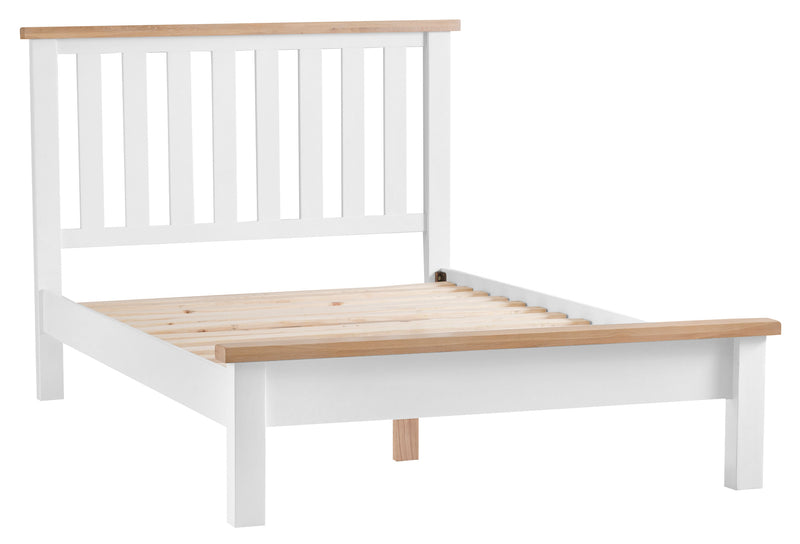 St Ives Hand-Painted White 4ft 6 Double Bed Frame