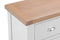 St Ives Hand-Painted White 4 Drawer Narrow Chest of Drawers